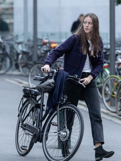 Batavus dame el cykel